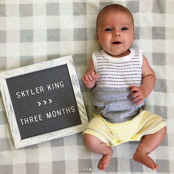 skyler three months