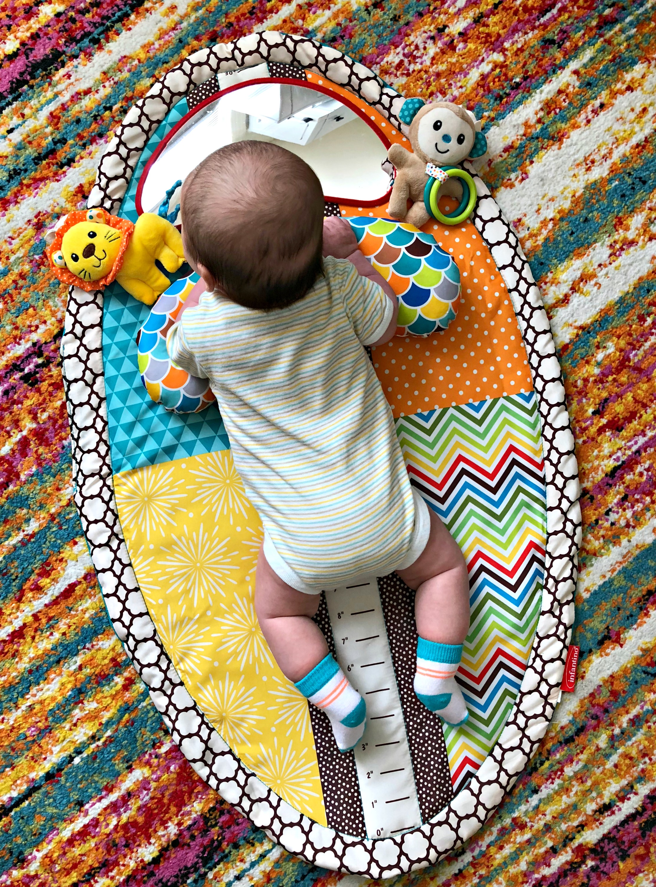 tummy time play mat for newborn