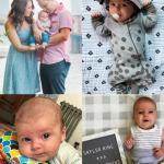 skyler's three month old update - life in leggings
