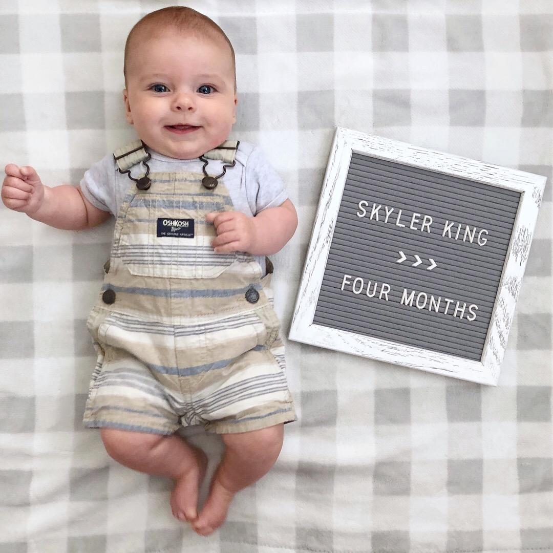 skyler 4 months 3