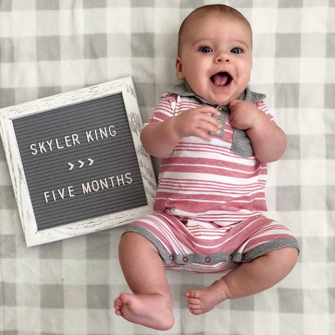 skyler 5 months 1