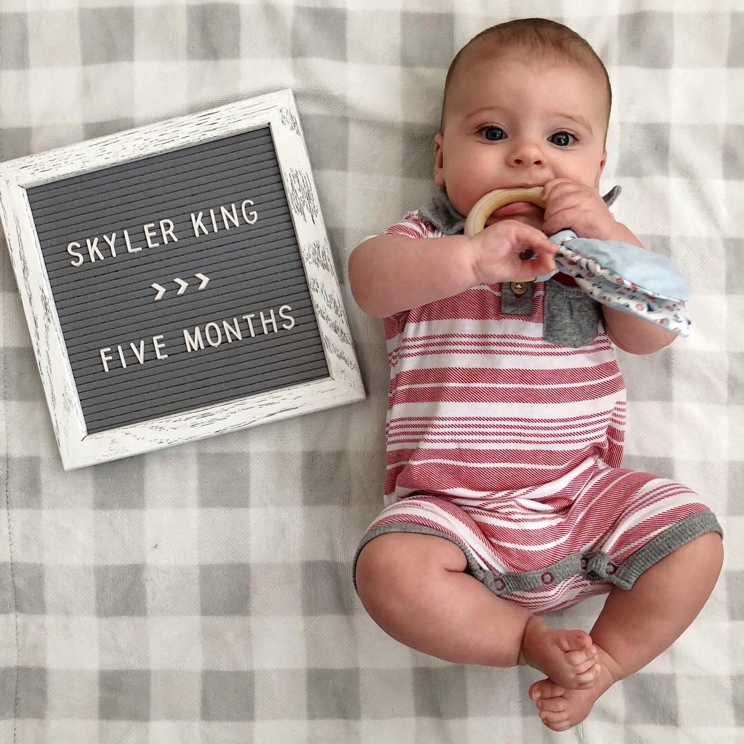 skyler 5 months 4