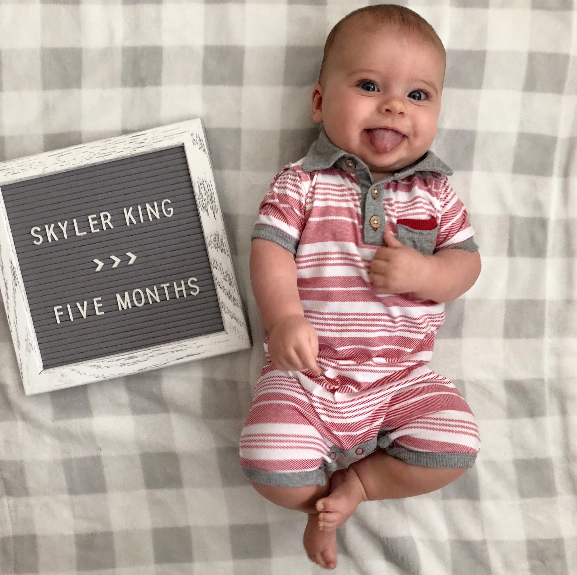 skyler 5 months 5