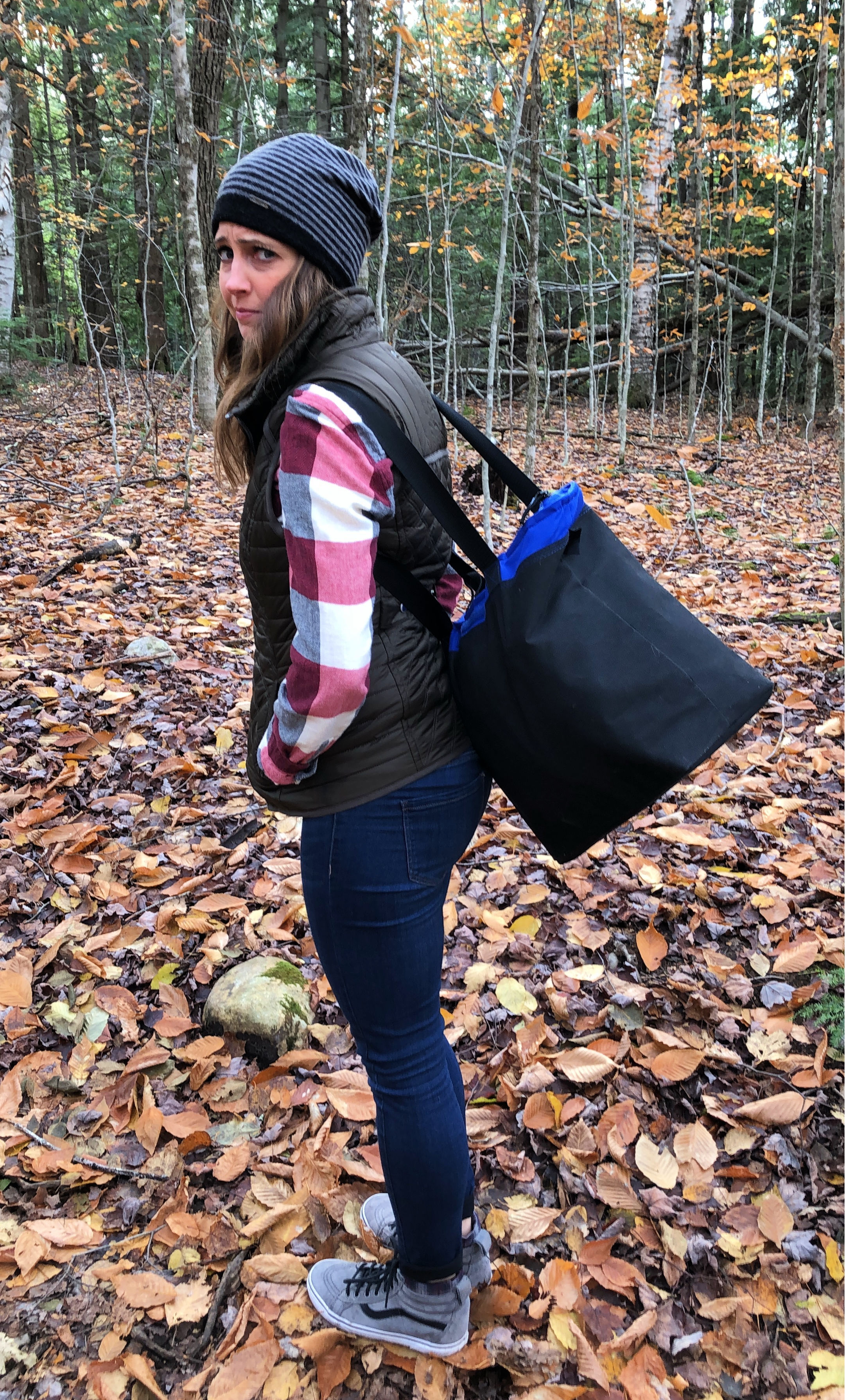 hiking lye brook falls vermont