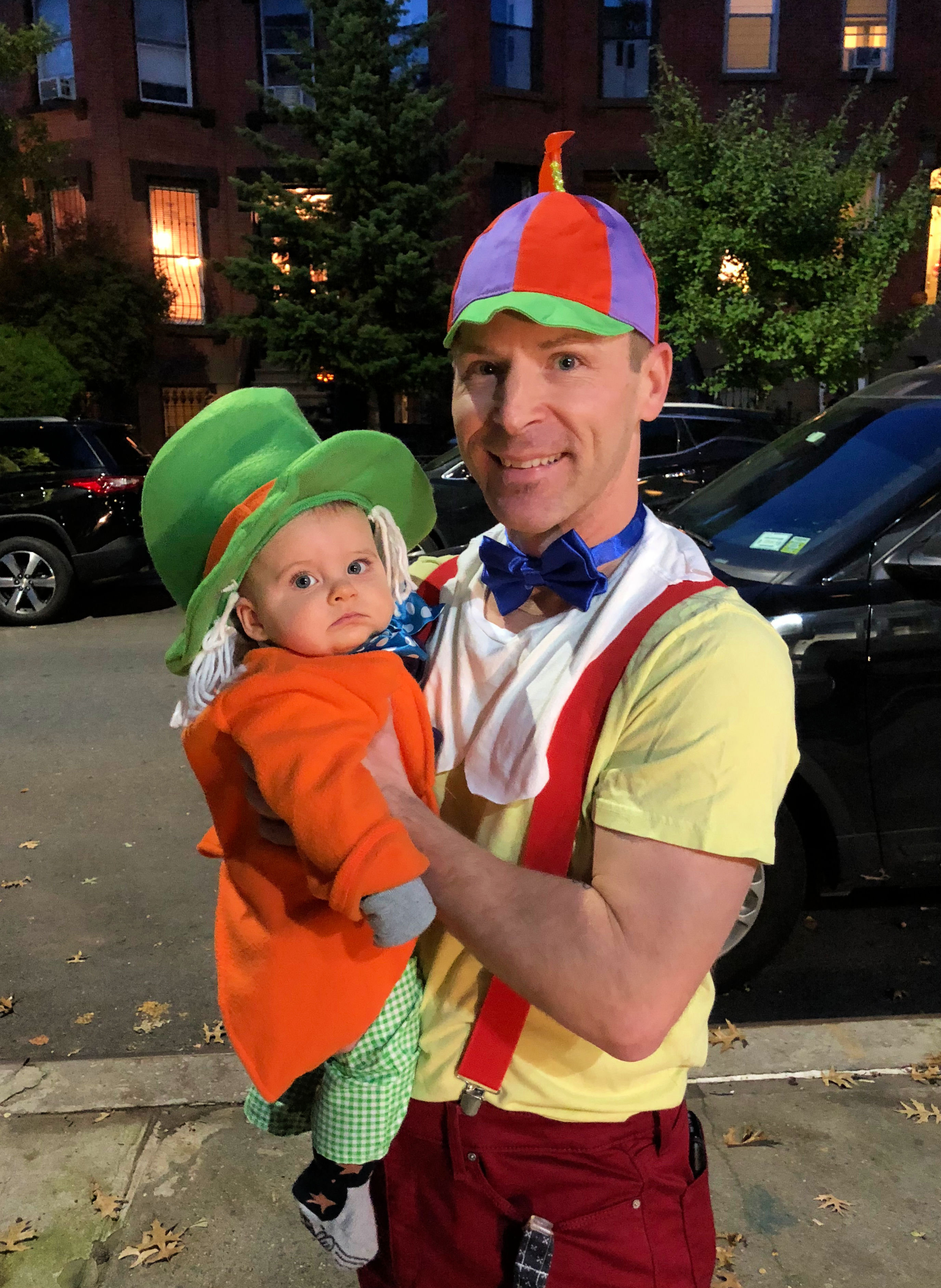 scott and skyler first halloween