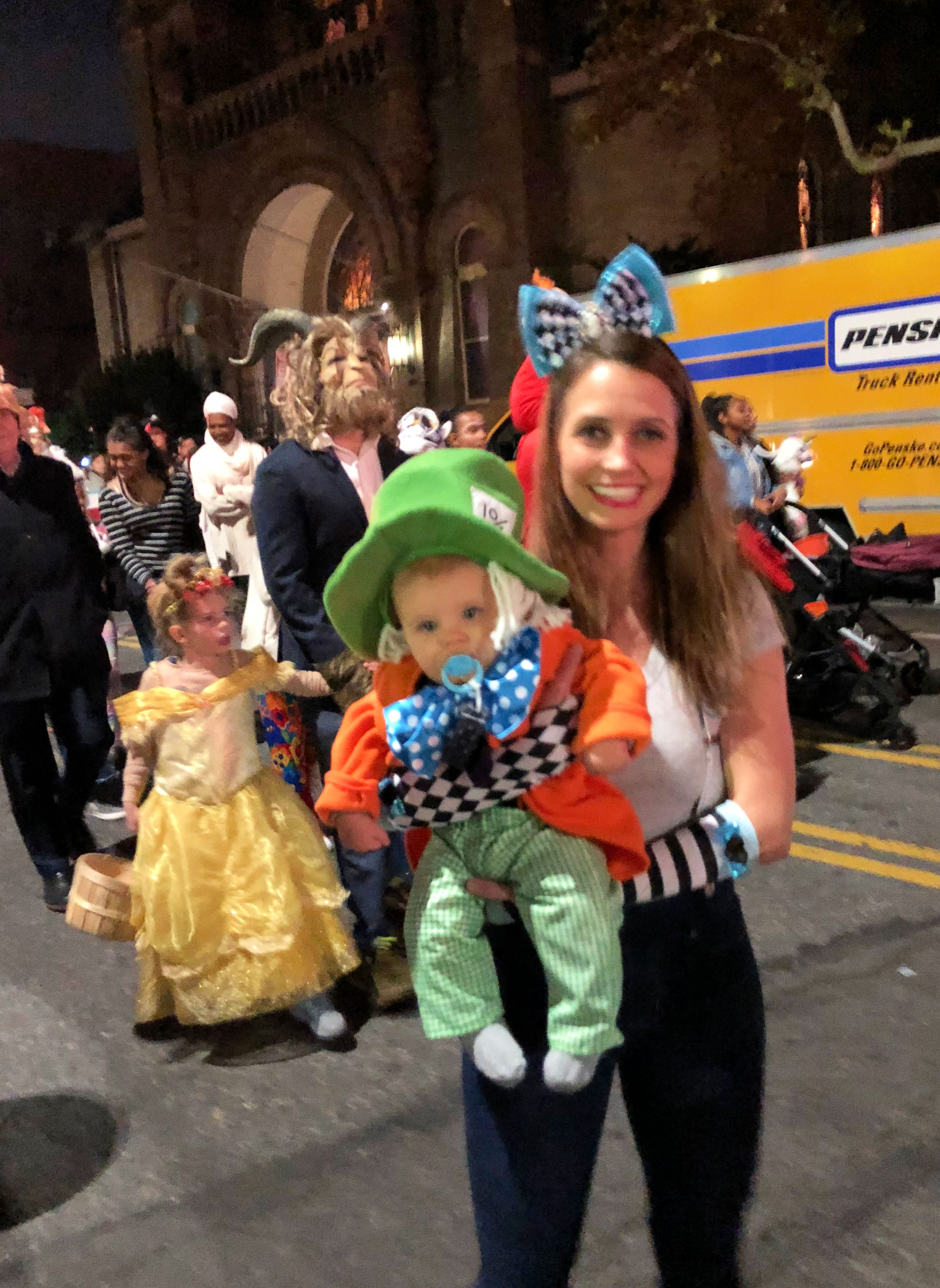 skylers first parade park slope halloween