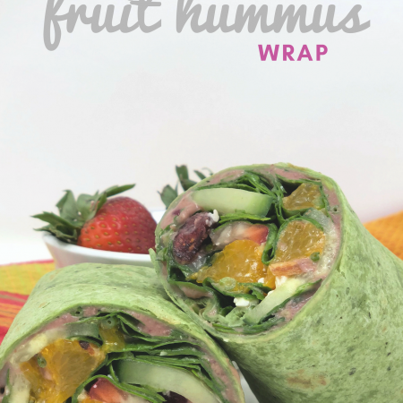 Cherry Fruit Hummus Wrap - Life In Leggings Lantana Hummus