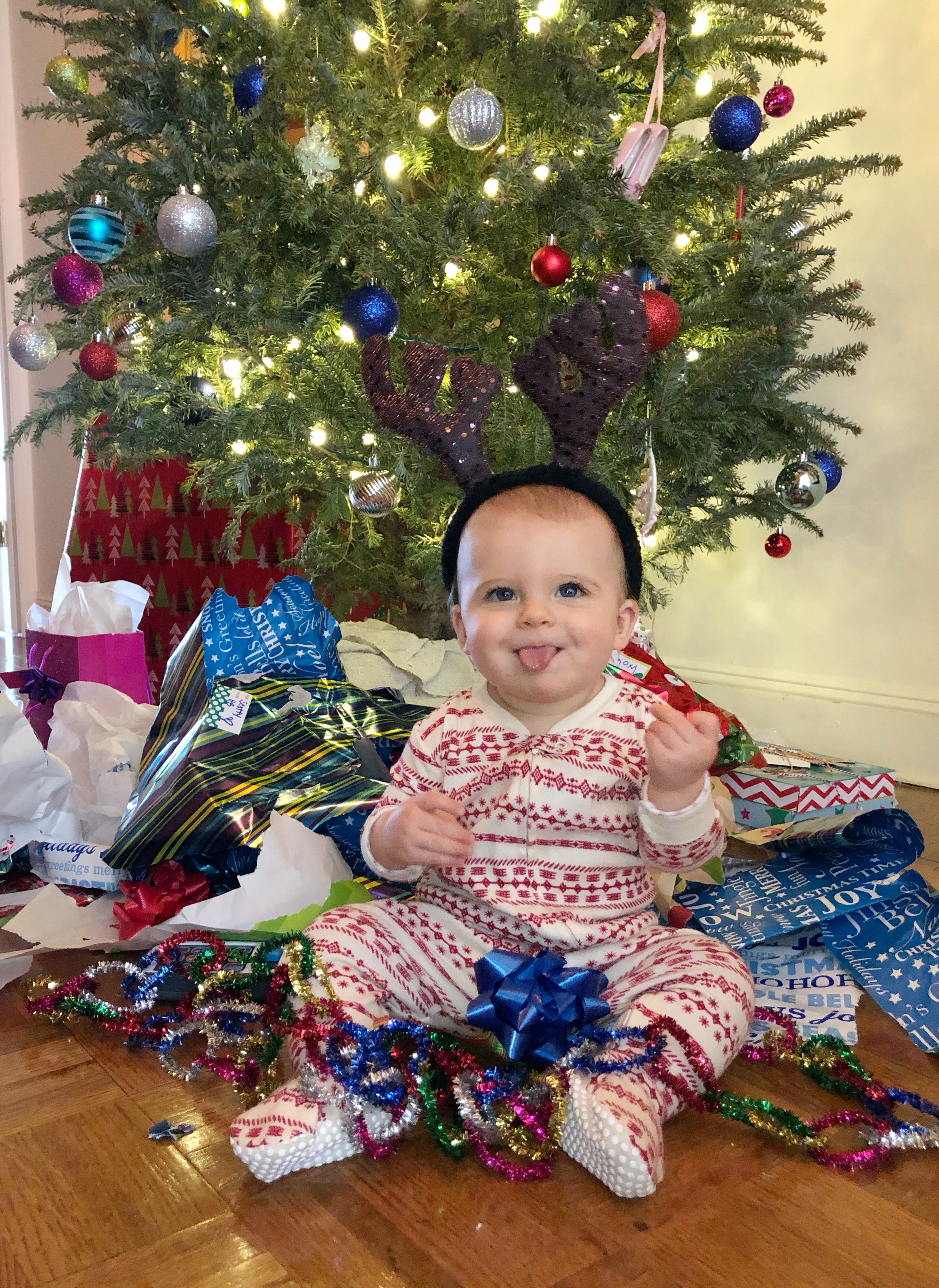 Skyler's First Christmas 2018
