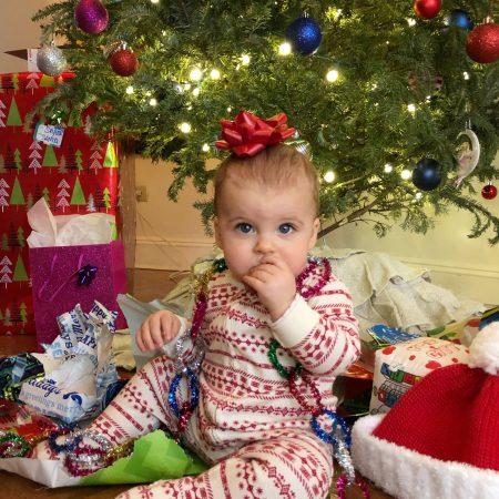 Skyler's First Christmas 2018
