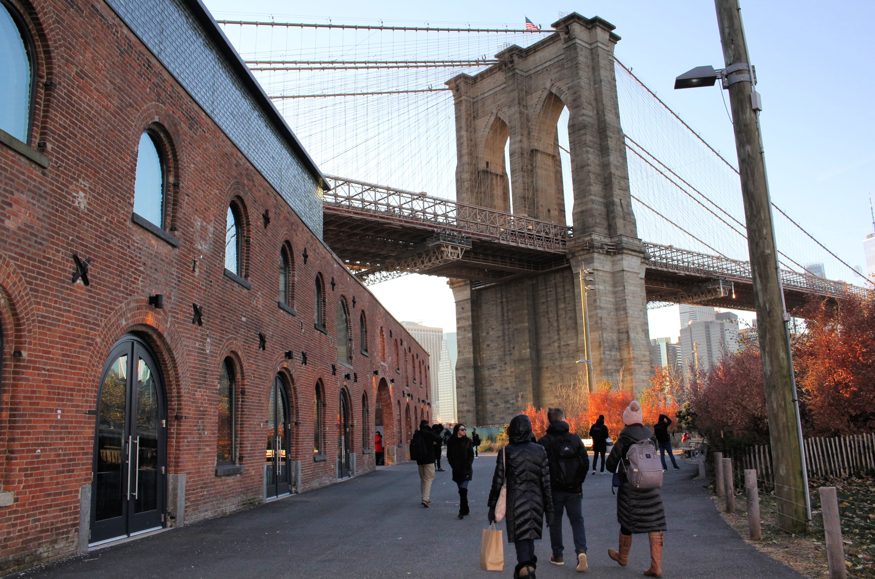 brooklyn bridge scenes