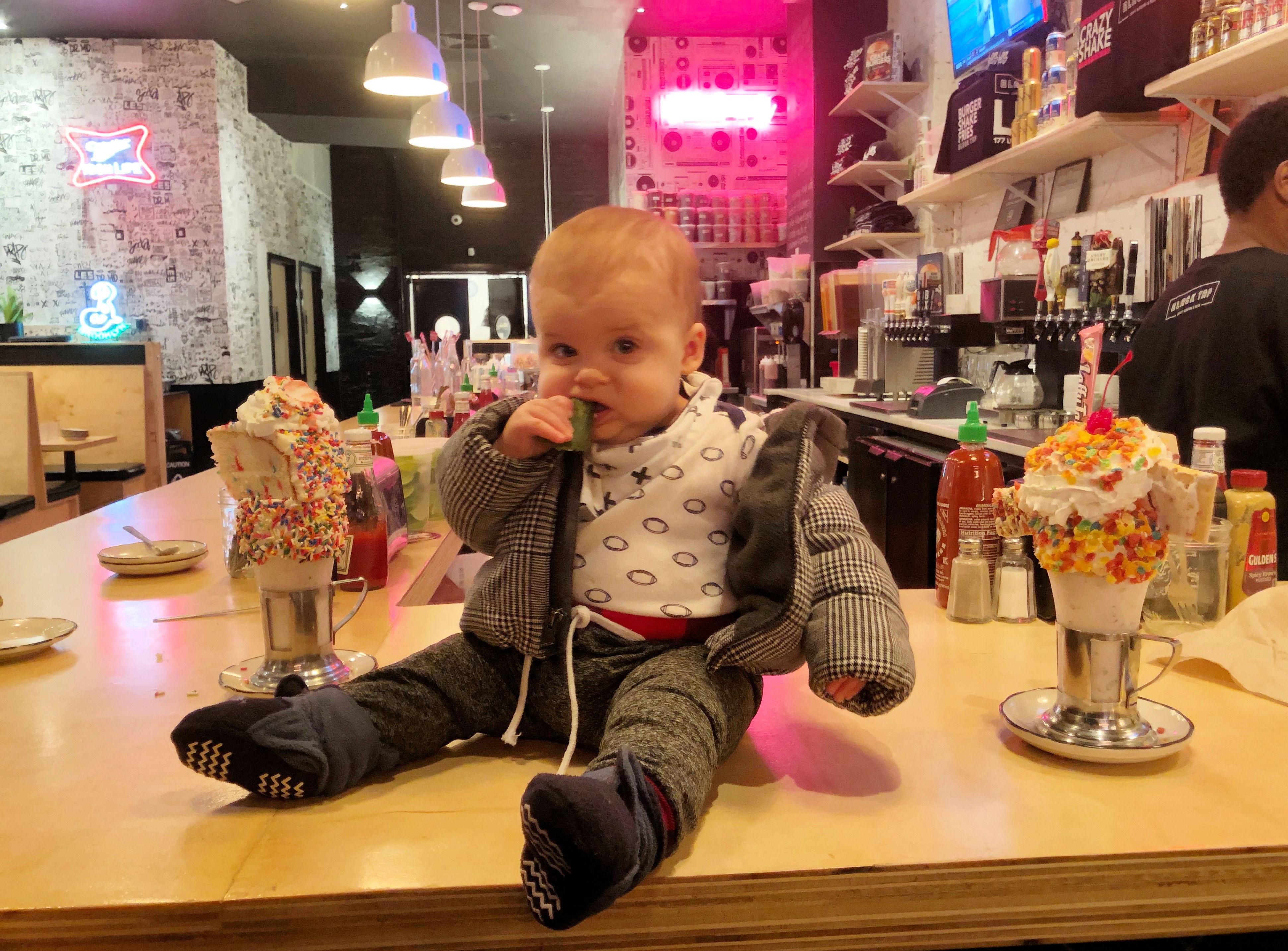black tap milkshakes skyler 9 months old