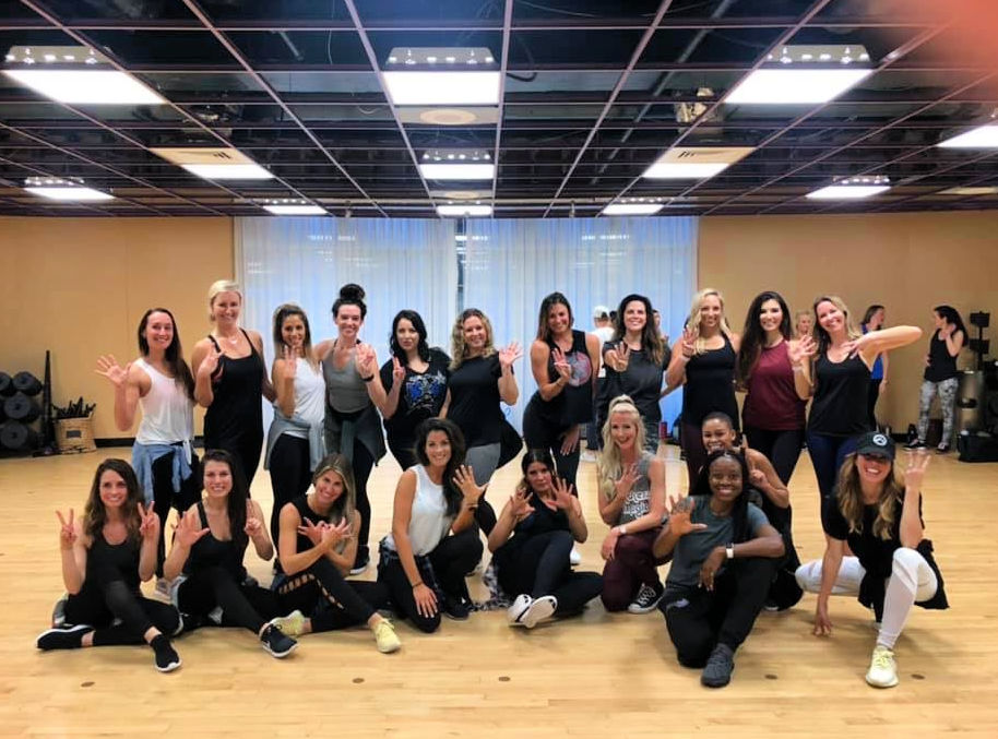 orlando magic dancer reunion rehearsal