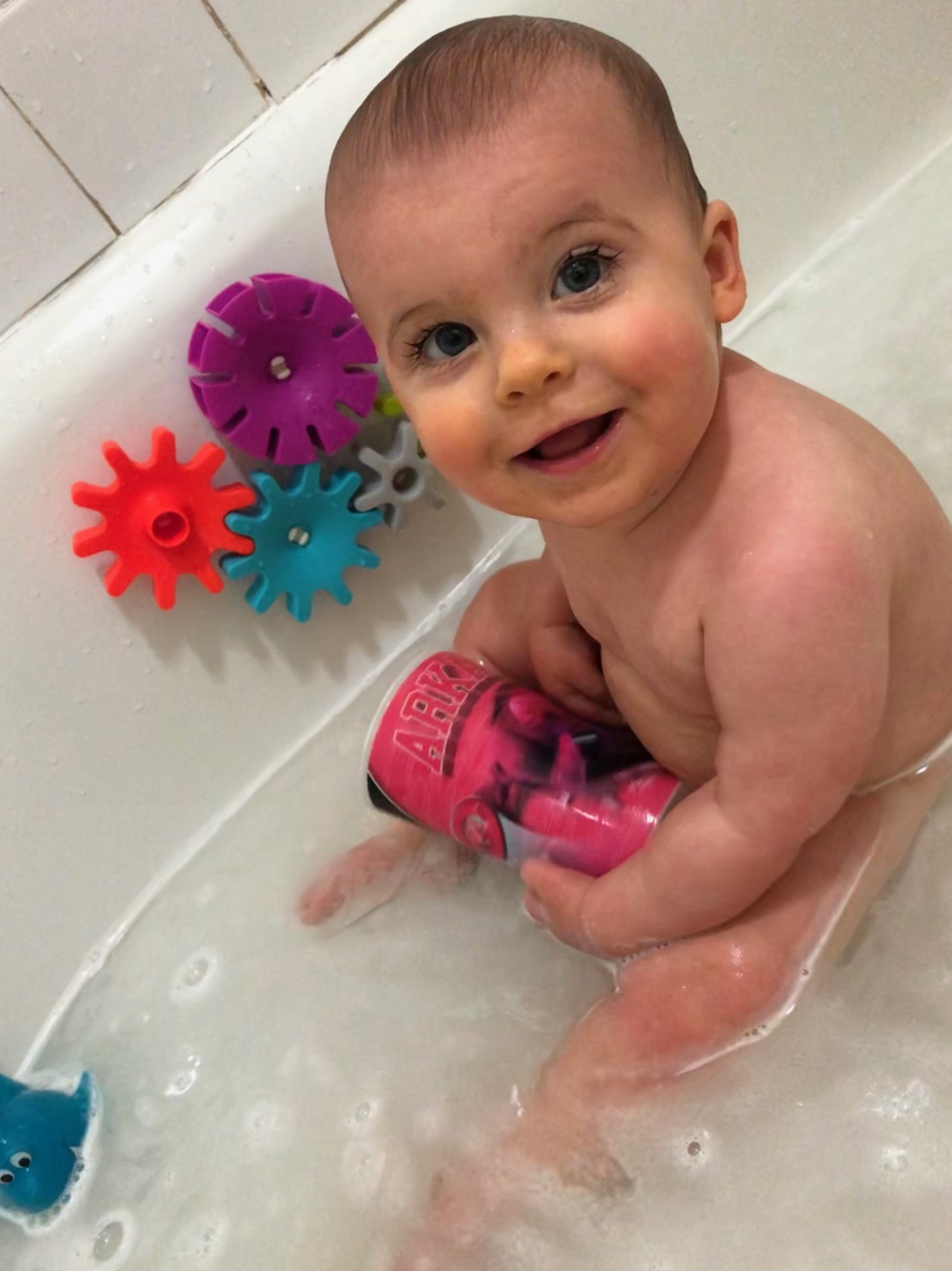 skyler bath 9 months