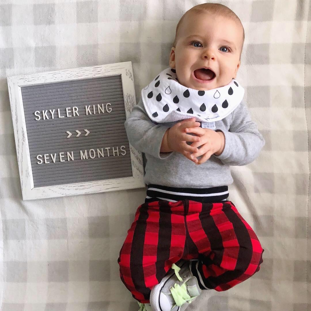 skyler 7 month photo 2