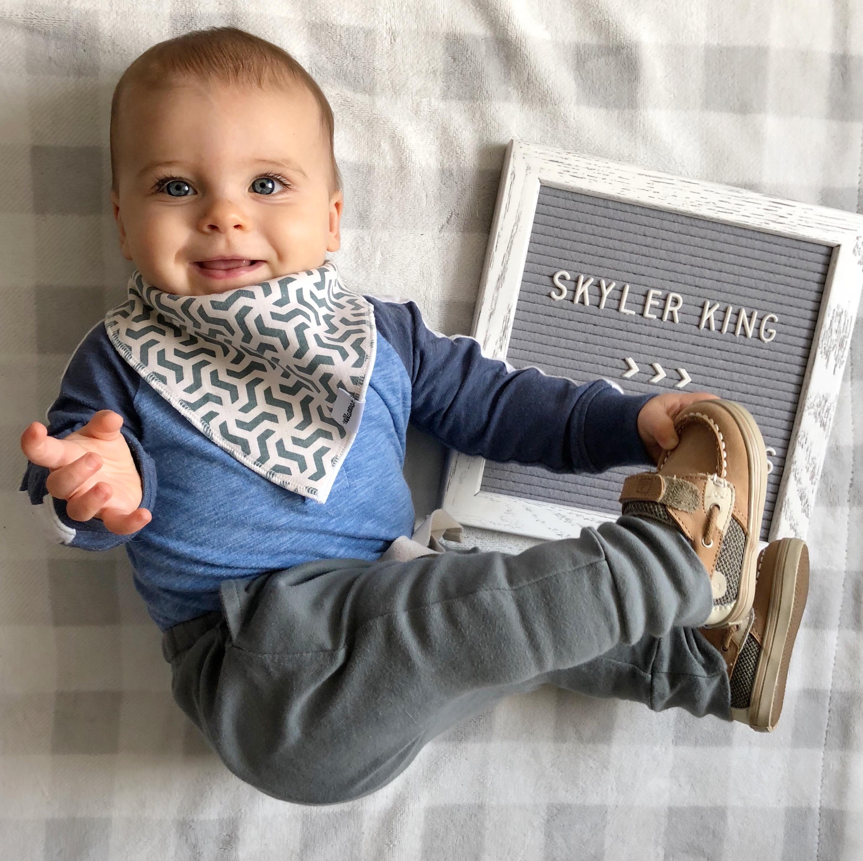 skyler 8 months update 2
