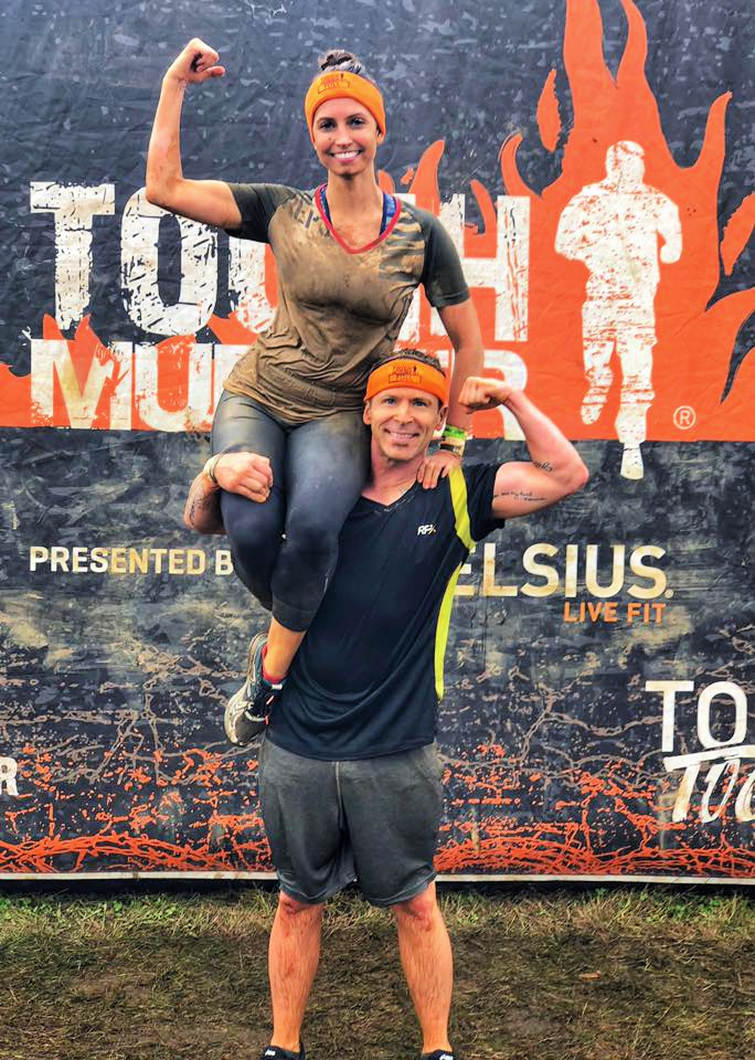 tough mudder race scott and heather