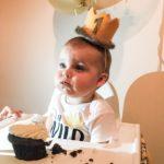 skylers first birthday - wild ONE