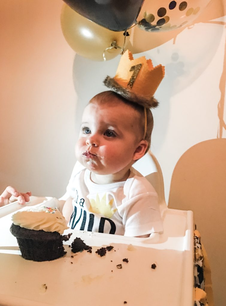 skylers first birthday - wild ONE