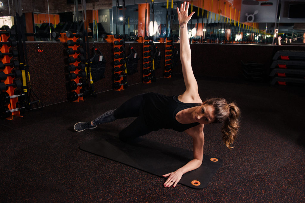 pregnancy postnatal modification orangetheory