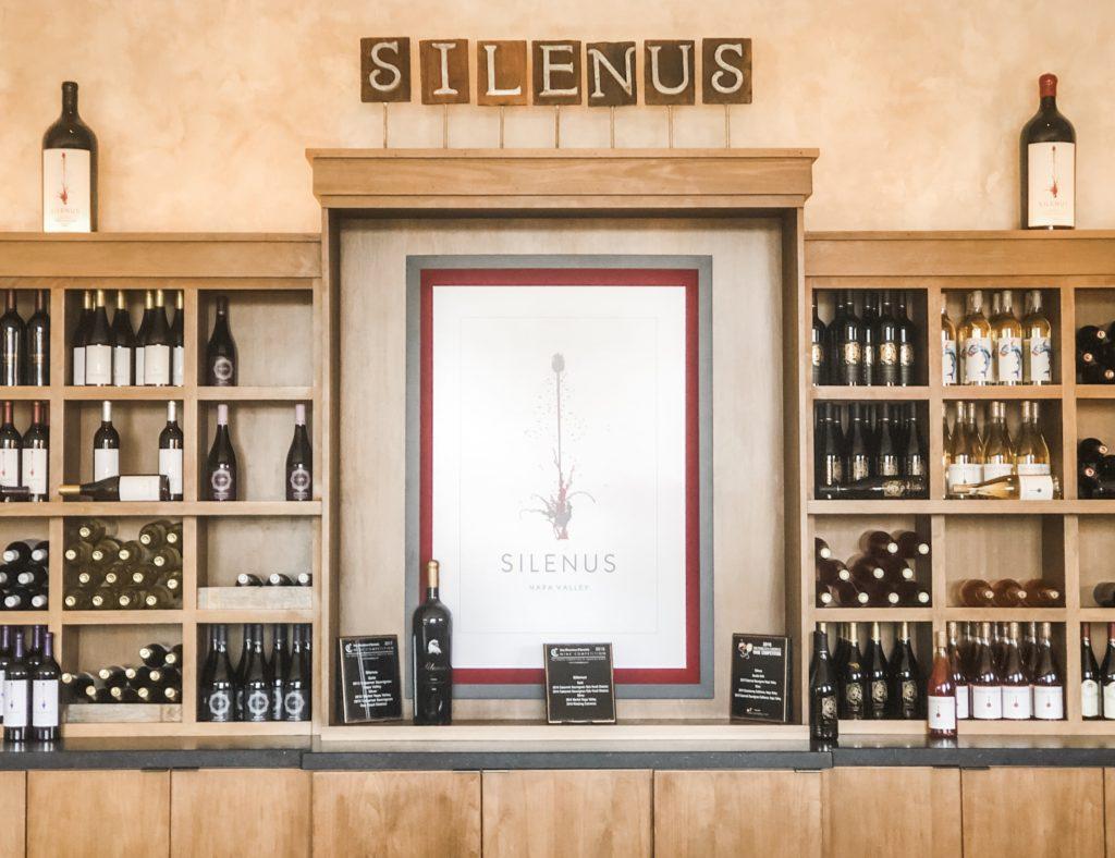 winery tour napa silenus
