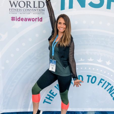 heather life in leggings idea world fitness convention 2019