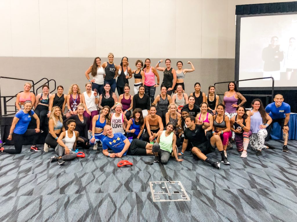 idea world fitness convention workout
