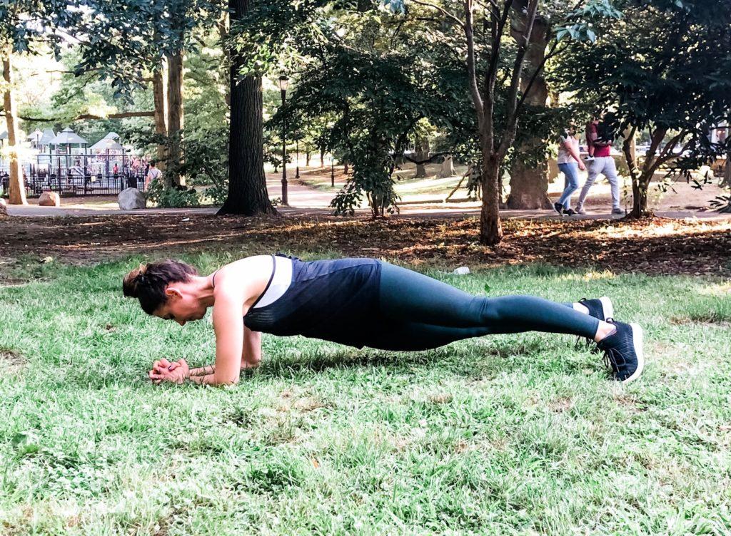 rainbow hip dips exercise