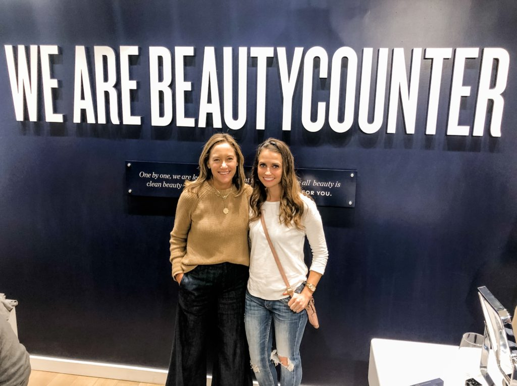 heather with gregg renfrew - beautycounter founder