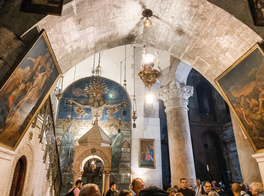 Church of Holy Sepulcre Inside
