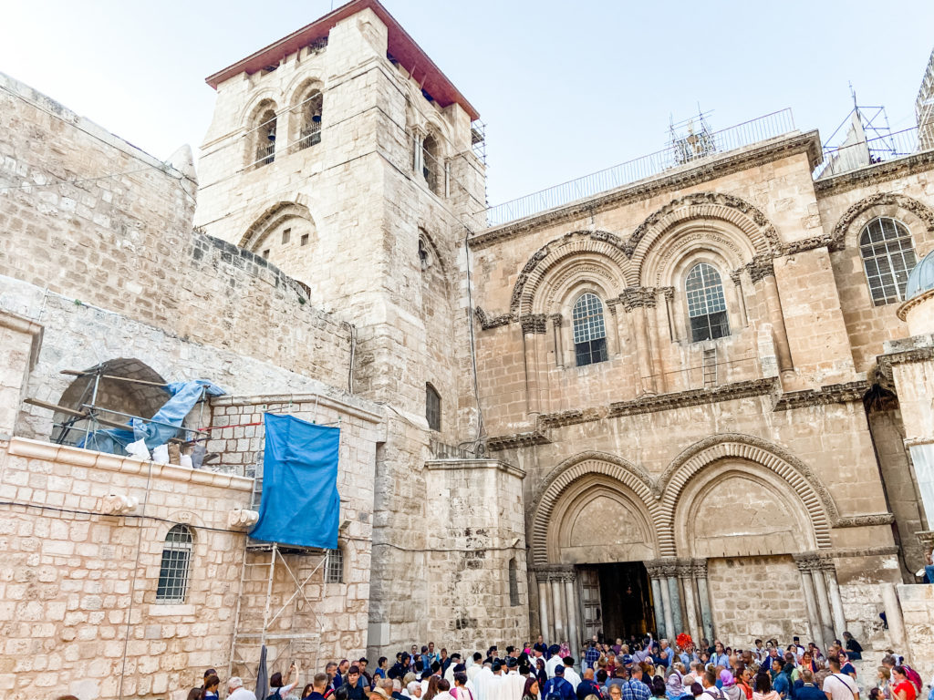 Church of Holy Sepulcre - Jerusalem