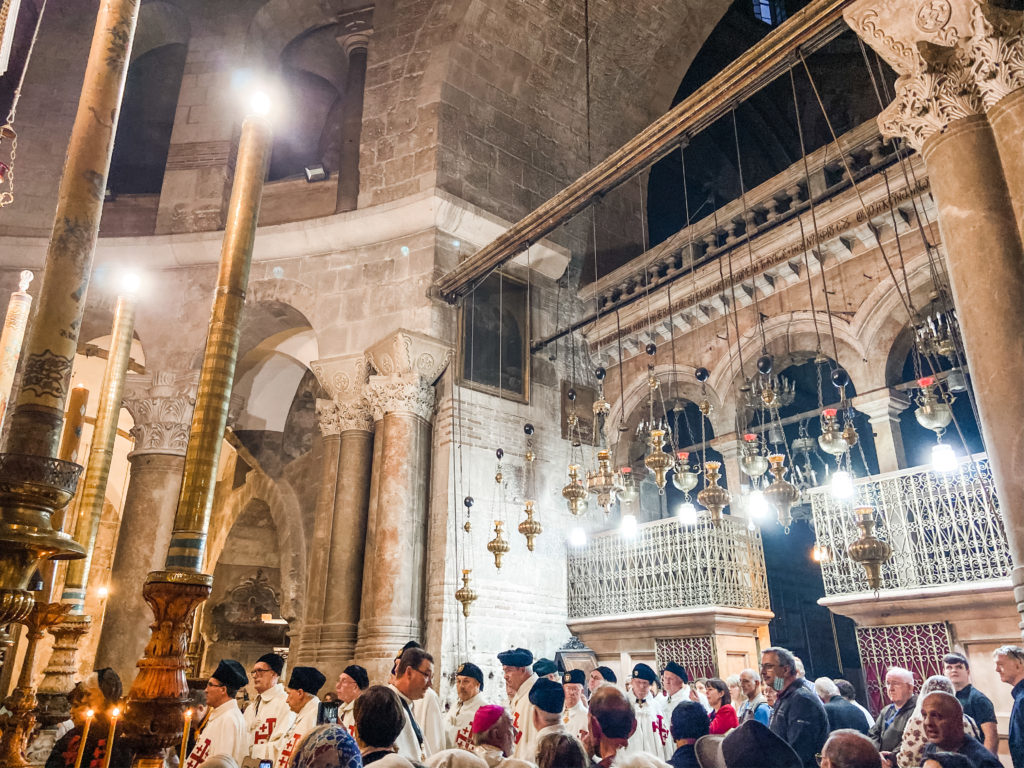 Church of Holy Sepulcre Tour