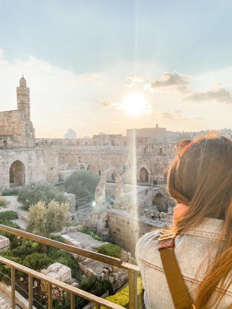 King of David Tower Jerusalem