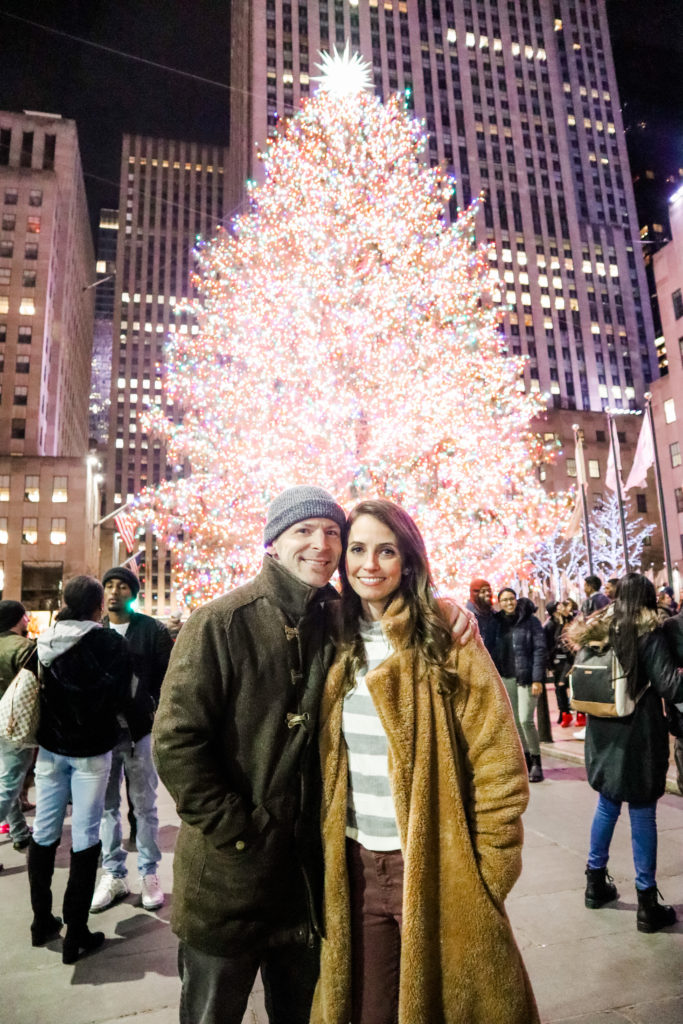 rockefeller tree - scott and heather