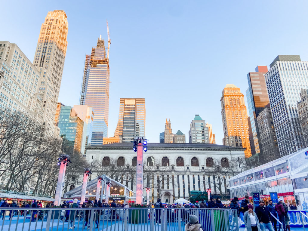 Bryant Park - Winter Market