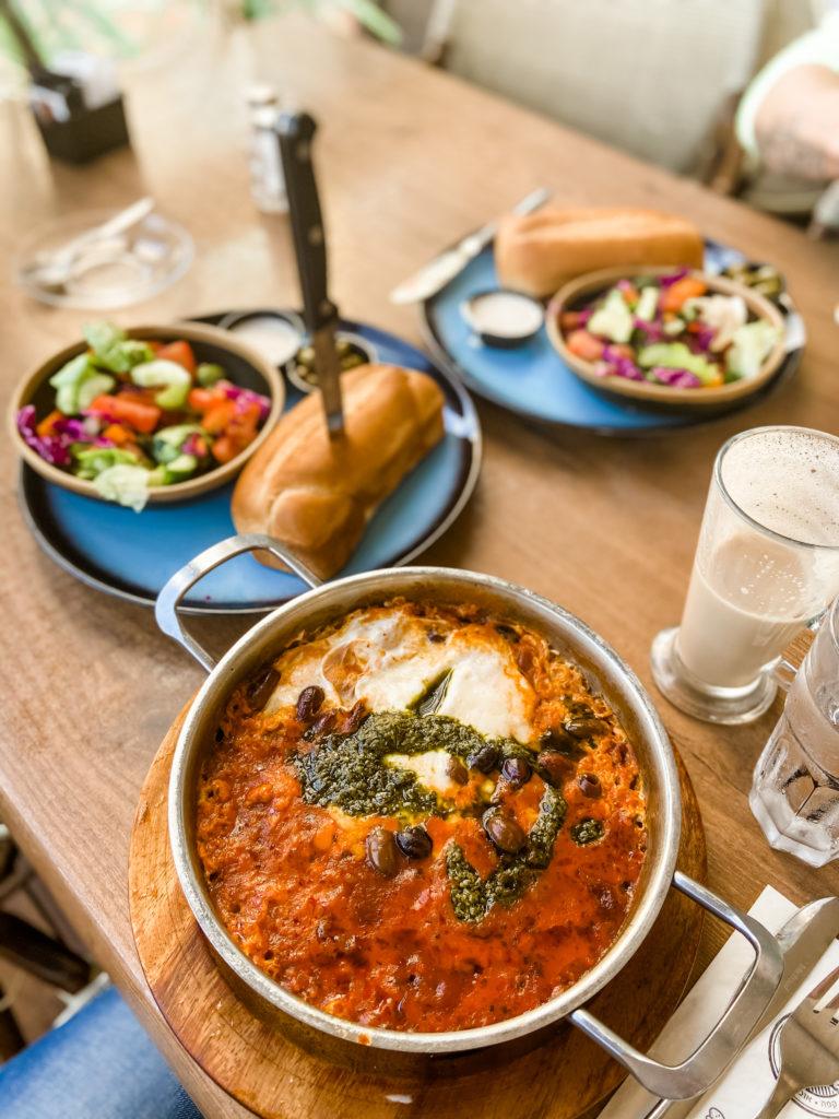 Marina Herzliya food