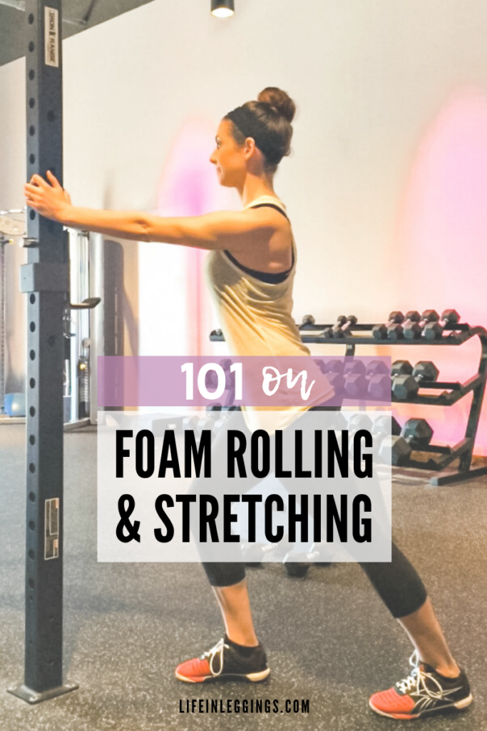 HOW TO - foam rolling & stretching