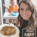 quick and easy toddler meal ideas
