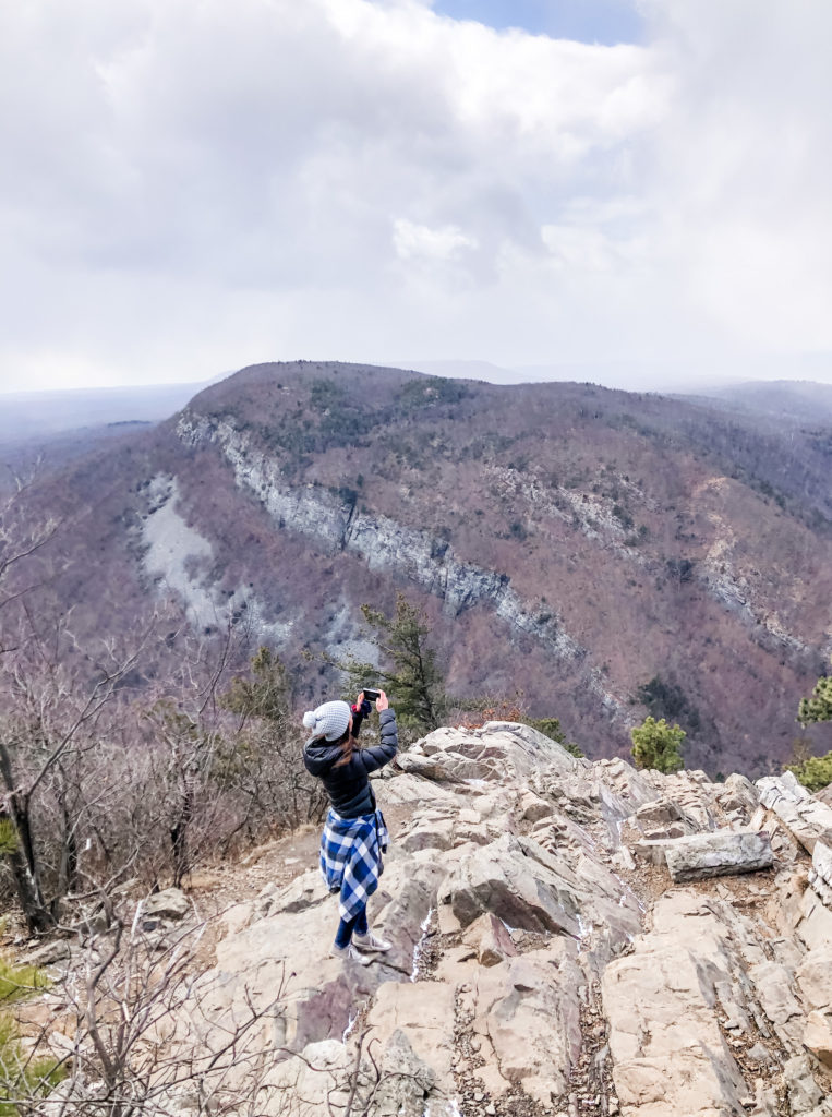 Appalachian Trail Water Gap Point View