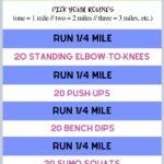 running & strength outdoor workout