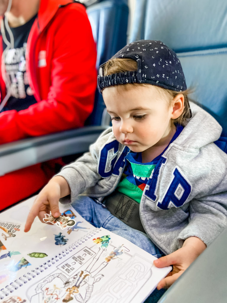 toddler activities on a plane