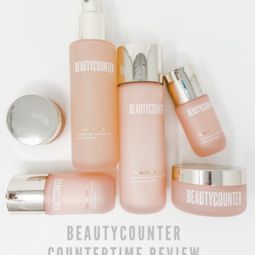 Beautycounter Countertime Line Review