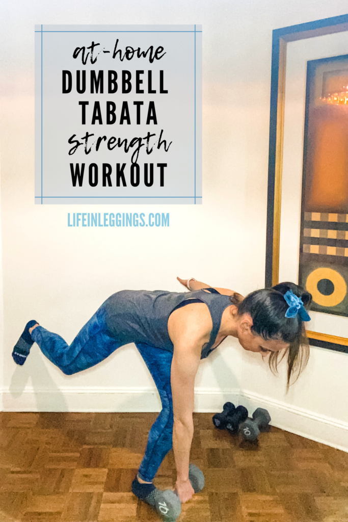 Dumbbell Tabata Strength Workout
