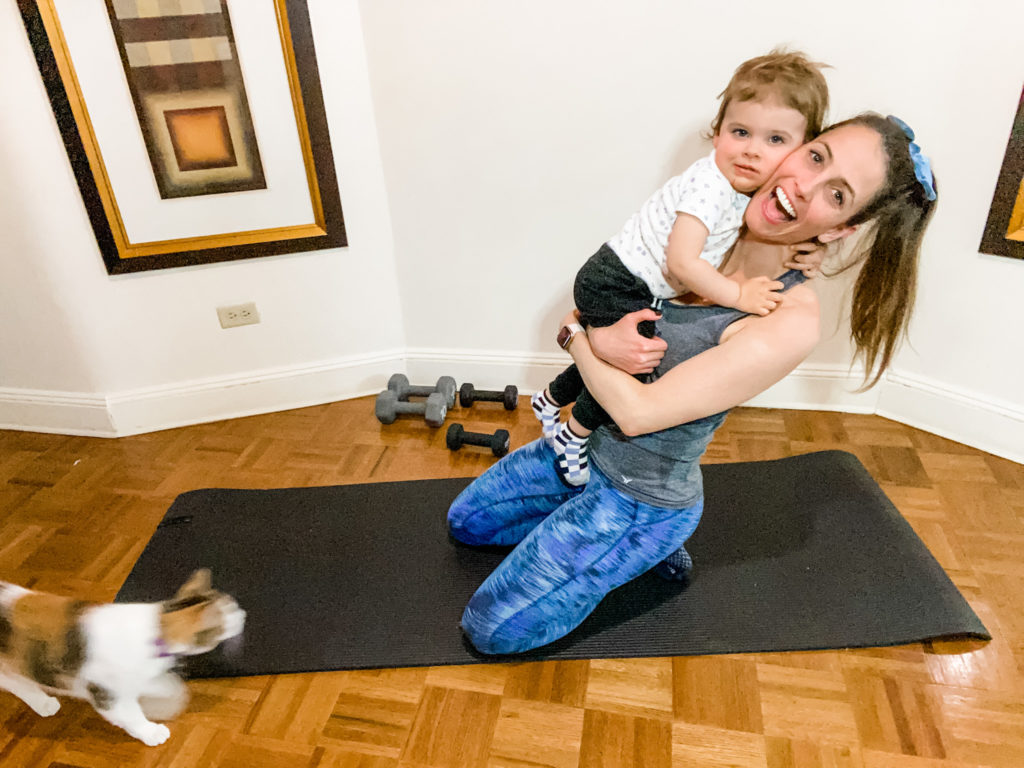 workouts at home with kids