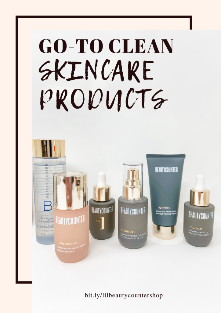 beautycounter clean skincare go-to products