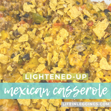 lightened-up mexican casserole recipe