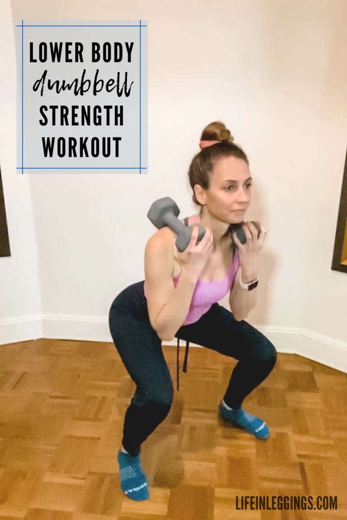 Lower Body Dumbbell Strength Workout