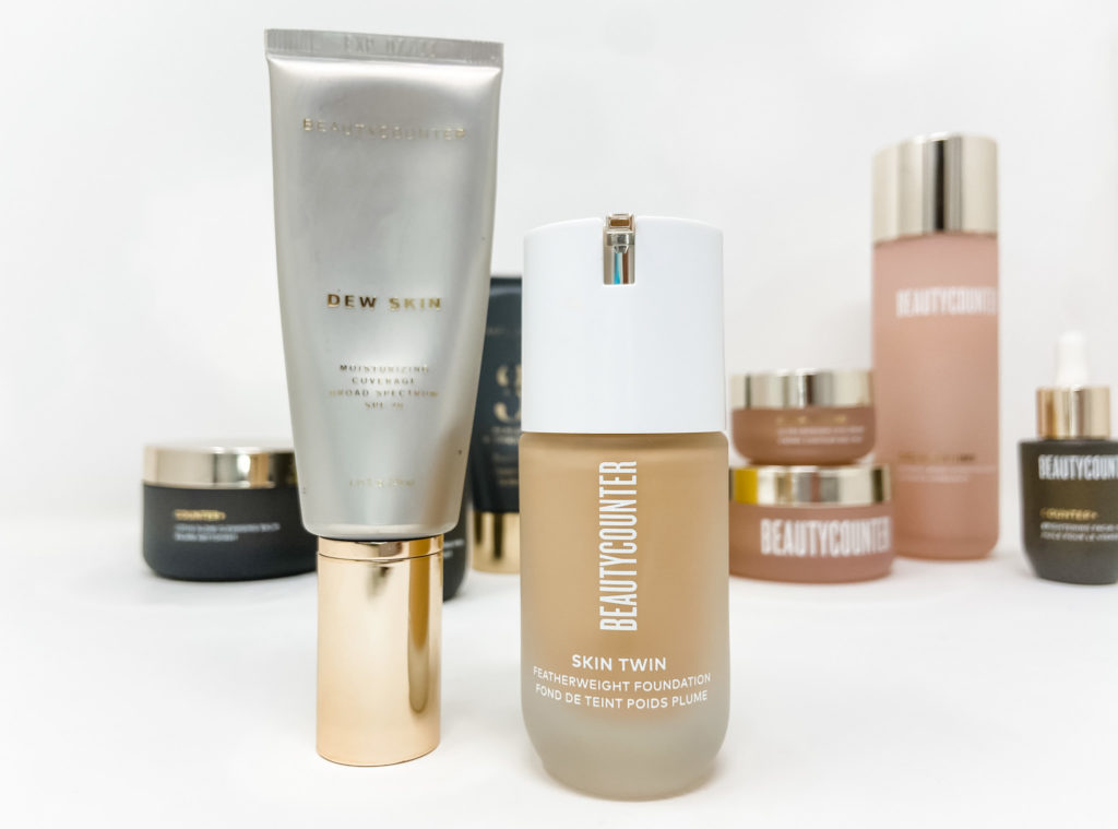 beautycounter foundations with skincare