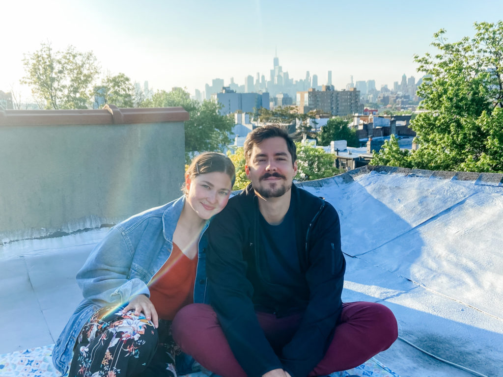 rooftop nyc friends