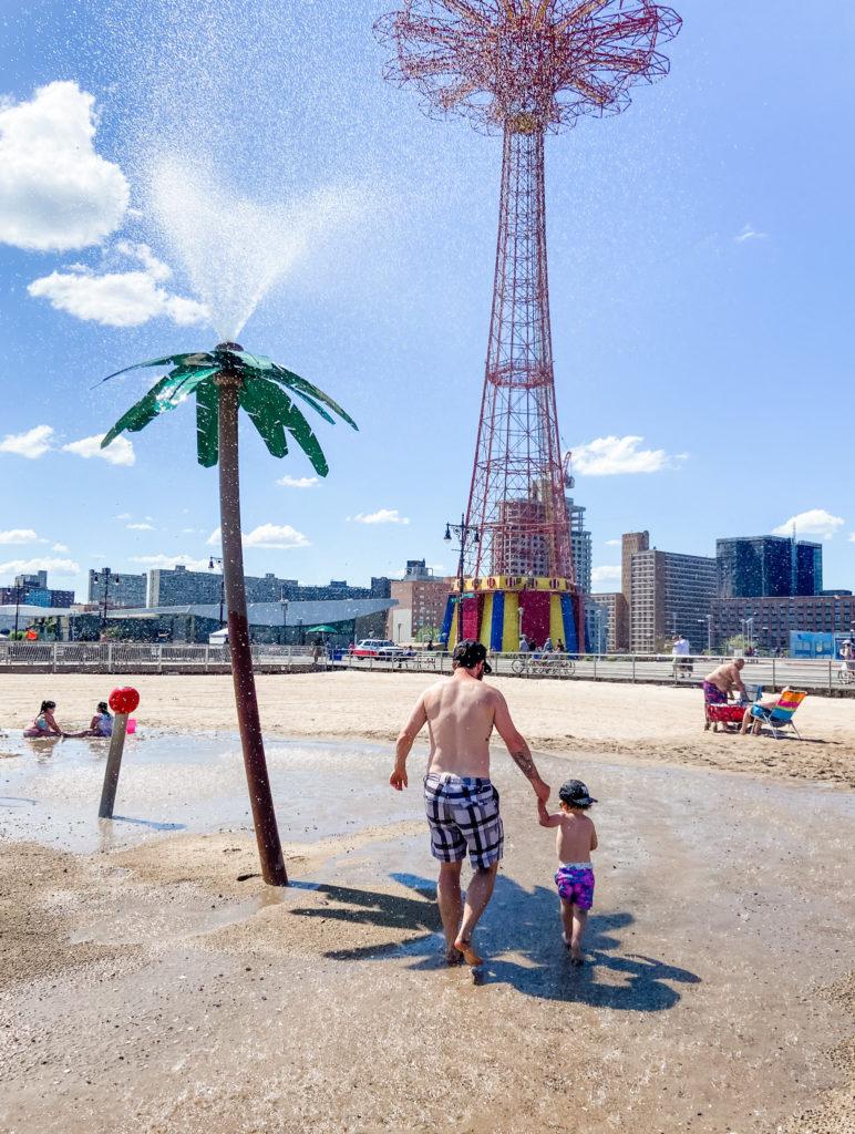 coney island kids fountain