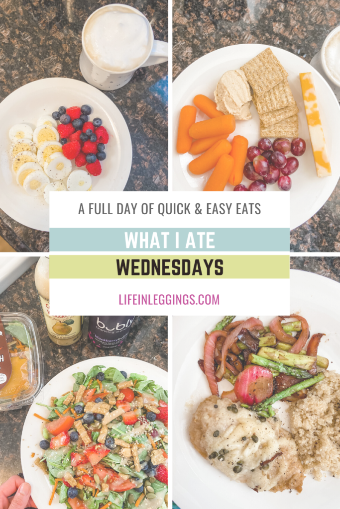 what i ate wednesday - healthy and effortless meals